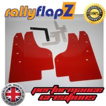FOCUS Mk3 All Models (Except ST & Zetec S) (2012+) RED MUDFLAPS